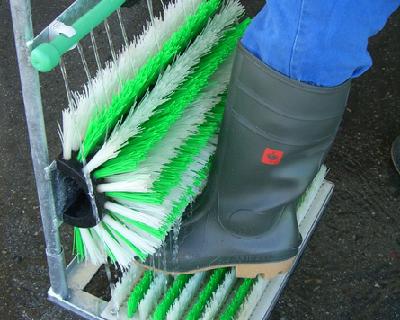 Почистваща система за ботуши, почистване на ботуши, почистване, ботуши